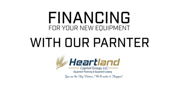 News - Financing for your new equipment with our partner Heartland Capital Group LLC