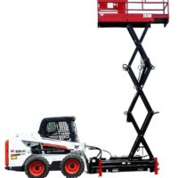 Skid Lift In Use