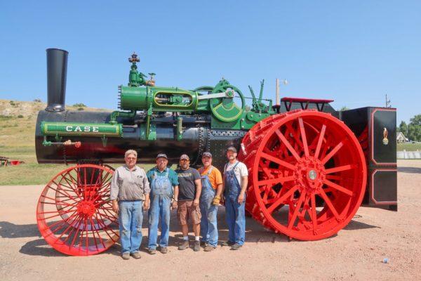 Wheels just installed Kevin, Gary, Mike Bradley, Jeff Detwiler, Kory