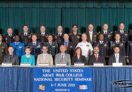 Anderson Selected to US Army War College National Security Seminar